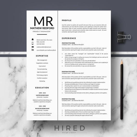 professional resume templates minimalist resume cv