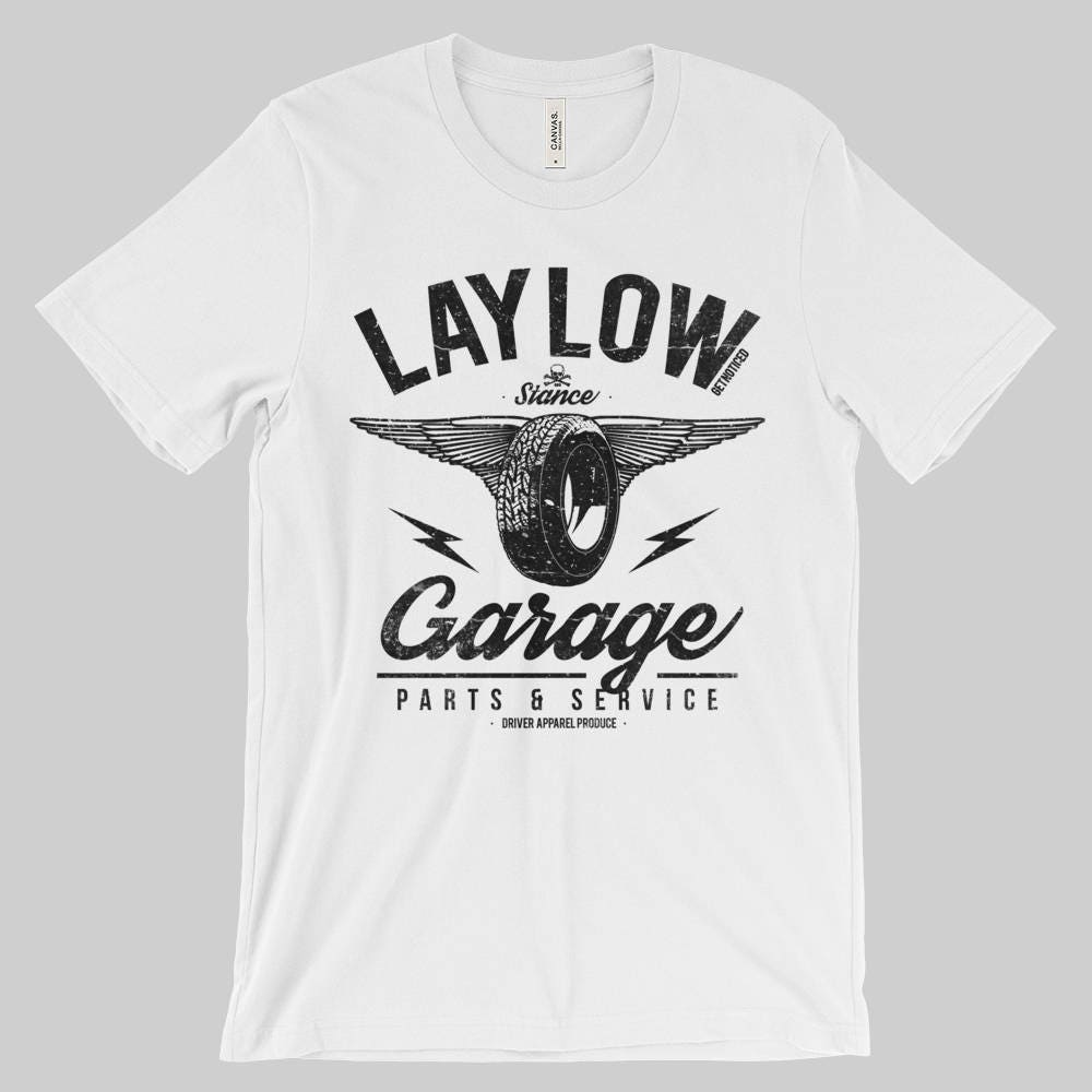 Lay Low Get Noticed Stancestatic T Shirt Etsy
