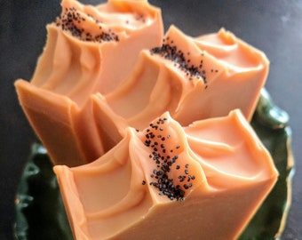 Mango Papaya ~ Cold Process Artisan Soap