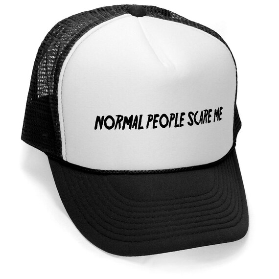 NORMAL people SCARE me FUNNY Trucker hat horror story show  6d3242c6e04