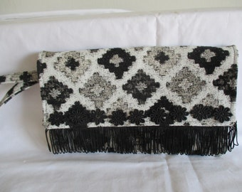 Hand made Clutch bag