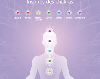 Coloring book - Coloring to meditate inspired by chakras