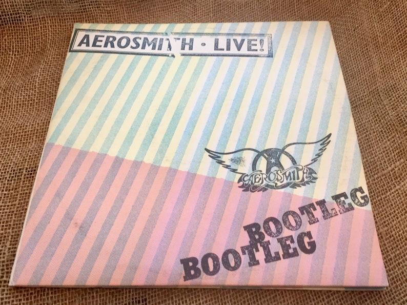 Aerosmith Live Bootleg, Bootleg, 1978 LP, Aerosmith, Vinyl Album, Classic  Rock, Vinyl Record, Classic Rock, Vintage , Music, Records