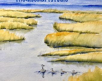 Marsh Family Print