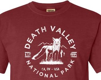 Death Valley National Park Adventure Comfort Colors TShirt