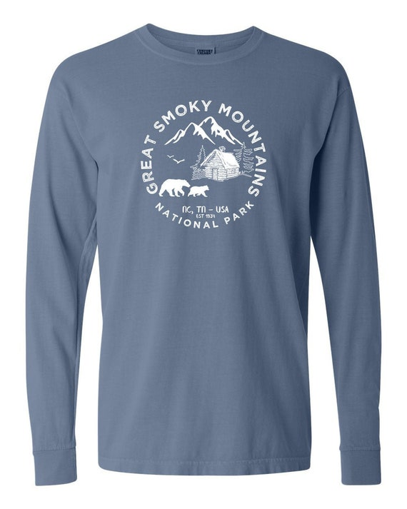 Great Smoky Mountains National Park Adventure Comfort Colors