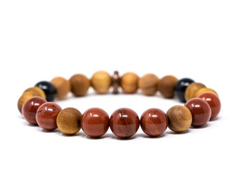 Healing Crystal Zen Jewelry Anxiety Bracelet Fidget Bracelets Boho Jewelry Azurite Anxiety Stress Relief Crystal Bracelet Tigers Eye