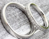 "Wedding Rings ""Stavos Brilliant"" Memory, Wedding Rings Platinum Memory Ring Memoir, 333 585 750 Gold Brilliant Rings"