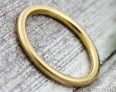 2 mm gold pre-insert ring, delicate ring gold, insert ring, wire ring gold, thin gold ring, thin ring gold