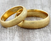 "Wedding rings ""Sun gold"" 900 yellow gold"