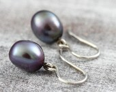 Pearl earrings silver, ea...