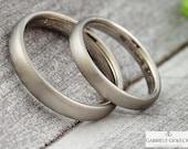 White gold wedding rings ...