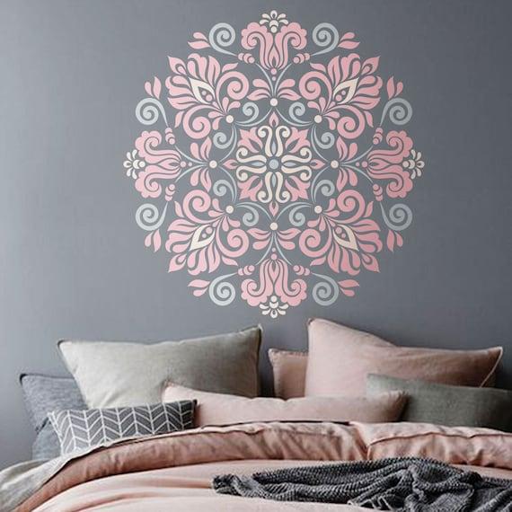 Mandala Stencil modello tribale per DIY Wall Decor moderno   Etsy