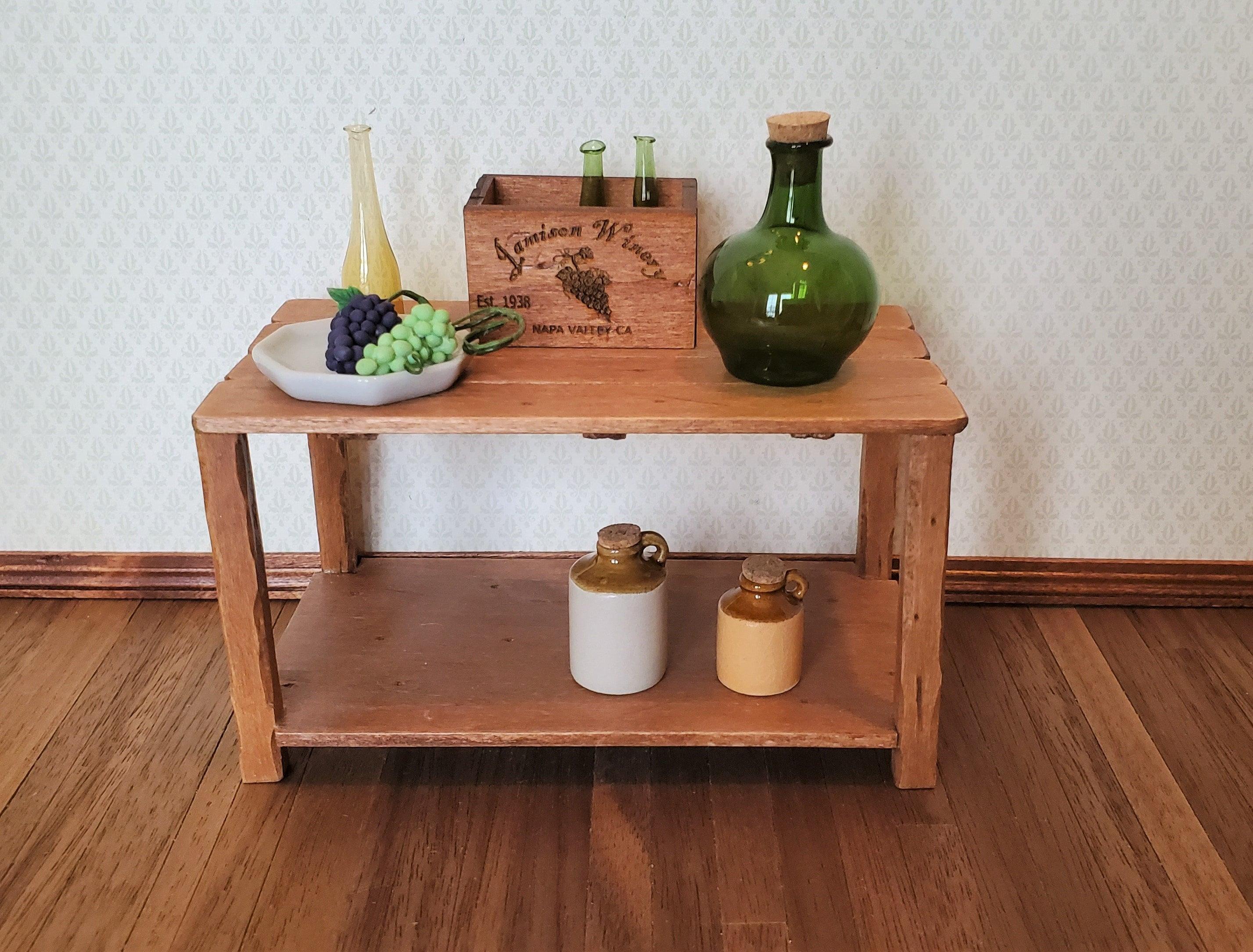 Dollhouse Miniature Wine Crate Jamison Winery Napa Valley Vintage Style 1:12