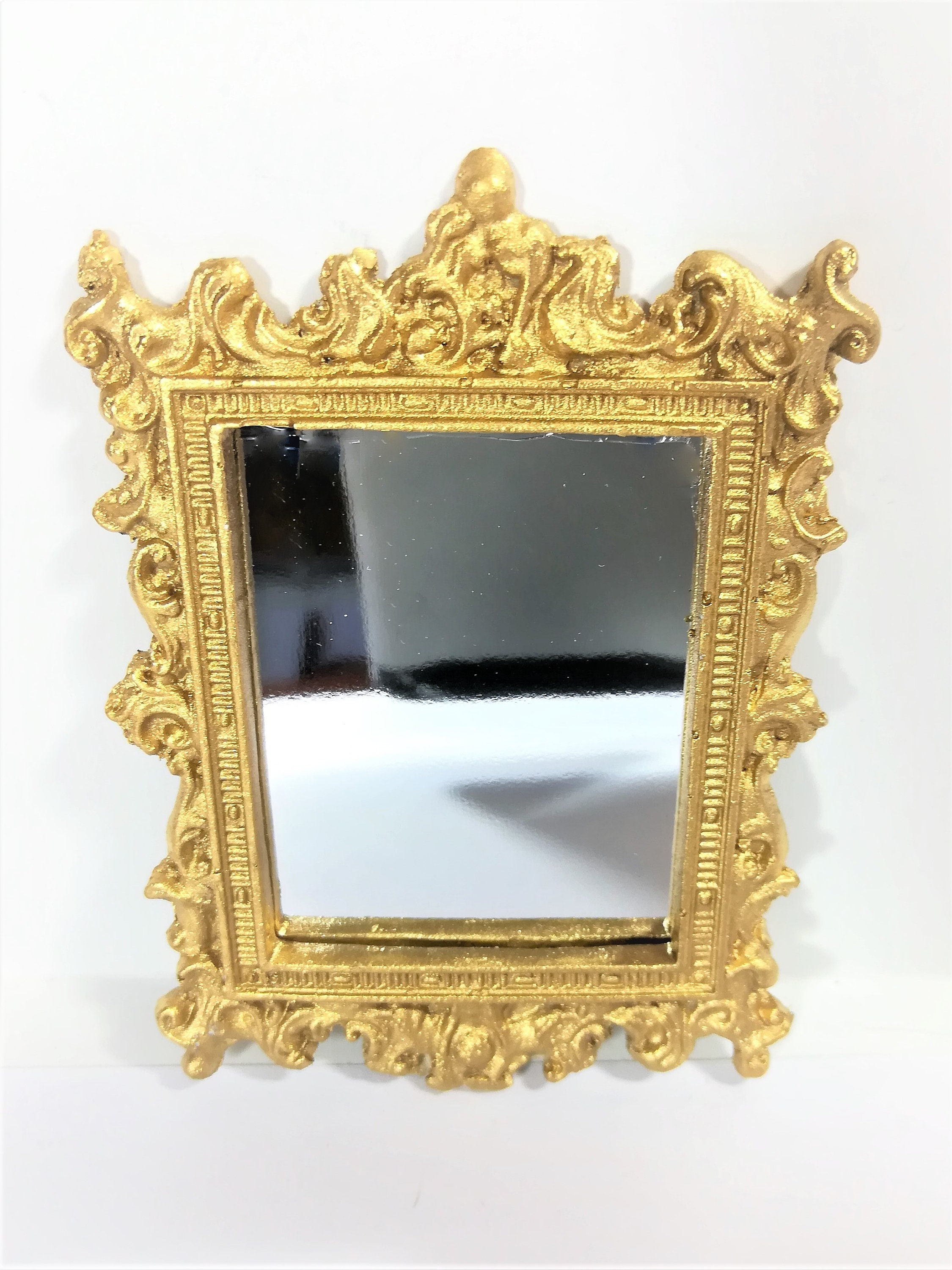 Dollhouse  1:12  scale Brass Picture Frame Made in USA