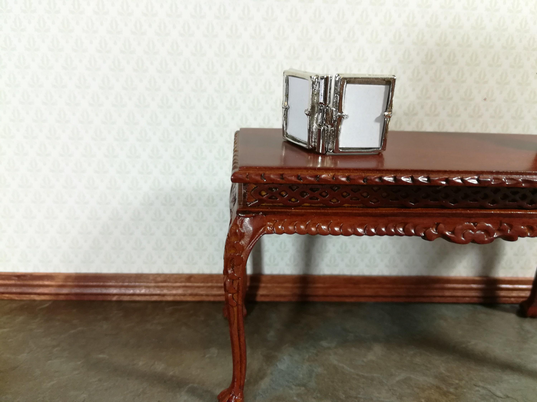 Dollhouse Miniature Baked Bread in Grey Enamelware Pan CAR0843