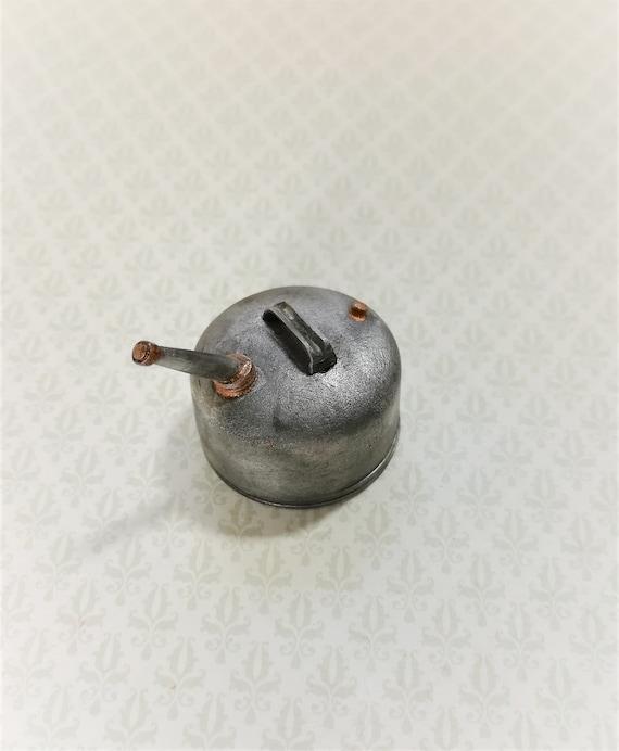 Dollhouse Sir Thomas Thumb Artisan Metal Gas Can 1:12 Doll House Miniatures