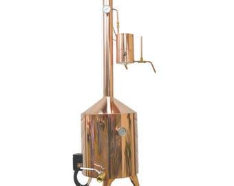 10 Gallon Electric Copper Distillery