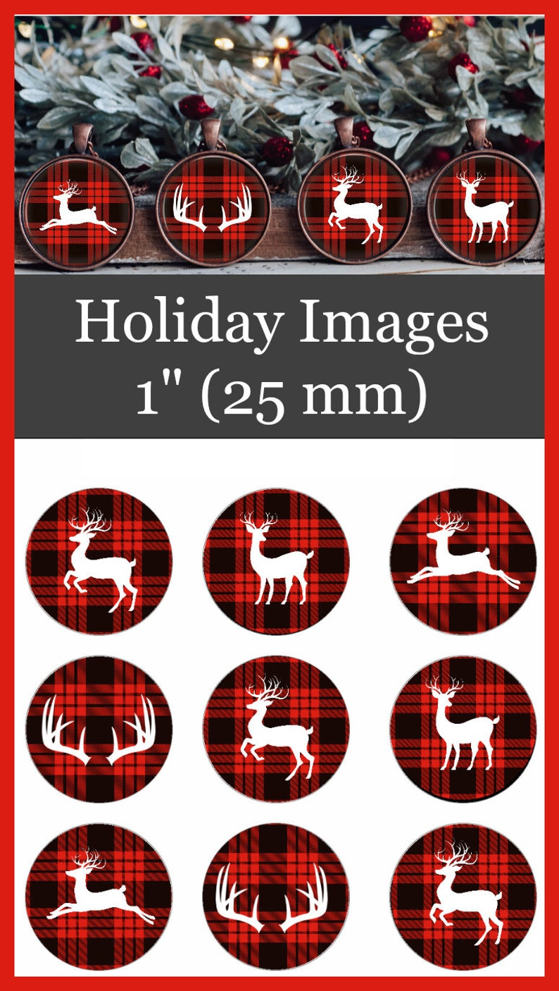 circle images for bows magnets stickers and more! Christmas Bottle Cap Images 1 inch circle images badge reels 4 x 6 digital collage