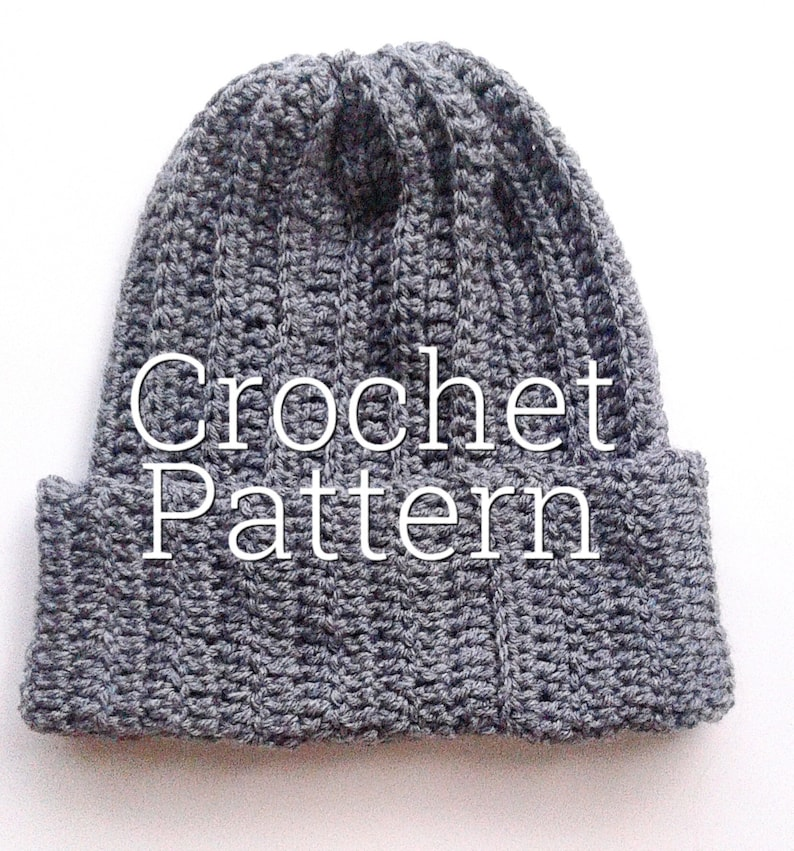 6dc805609d2 October Beanie pattern crochet hat pattern easy crochet