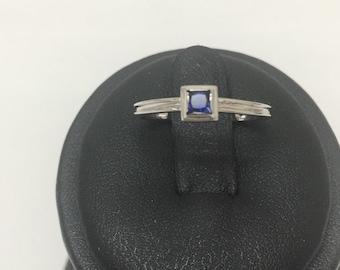 14 K White gold Ring