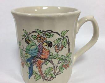 Parrot Mug by Sunnycraft