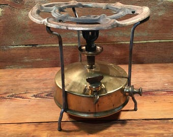 Vintage primus stove russian camping stove brass stove classic camping gear kerosene burner cook stove Record 1 made in USSR