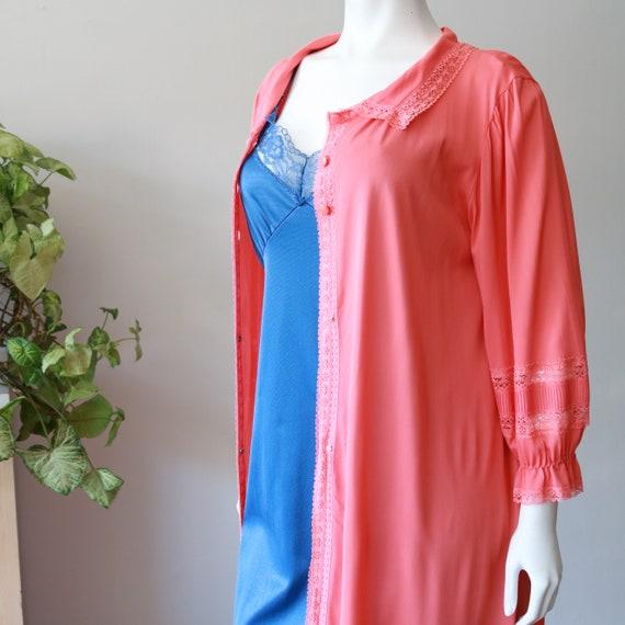 Vintage Clothing Loungewear 70's - Women's Nightg… - image 8