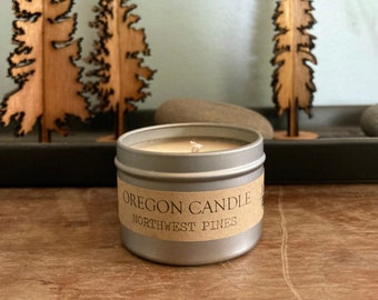 Oregon Candle | 2oz | Soy Candle | Cotton Wick