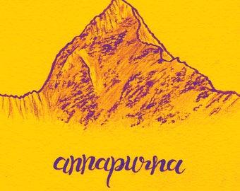 Annapurna - Samsung Galaxy s7 Background.