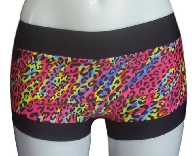 Pole shorts - Leopard Print