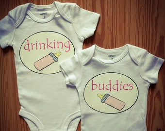 Twins, siblings and besties onesies