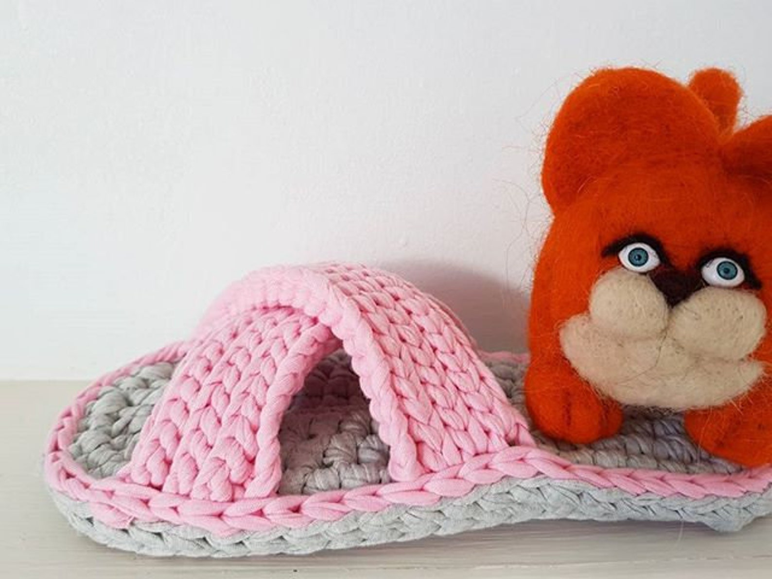 women slippers, bow slippers, ballet flats slippers, handmade slippers, knitted slippers, slippers for home slippers for gift mo