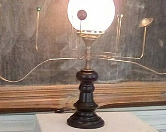 Antiqued Orrery Lamp by South Carolina artist Will S. Anderson