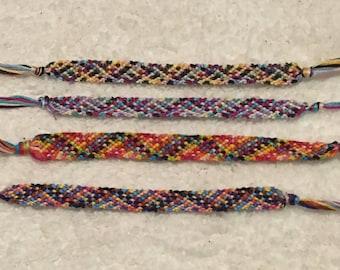 Multicolor Rag Rug Friendship Bracelet