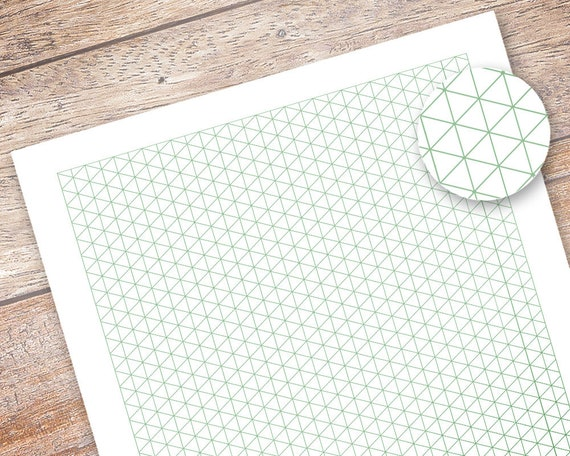 picture relating to Printable Isometric Paper called Printable Isometric Grid Paper, Bullet Magazine Printable Planner Add, A5 Planner Binder Template, Grid Laptop computer, Drafting Paper Obtain
