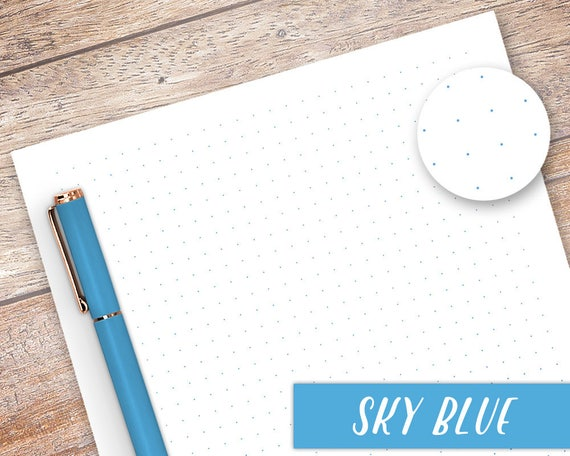 A5 Dot Grid Paper Dot Grid Printable Bullet Journalling | Etsy