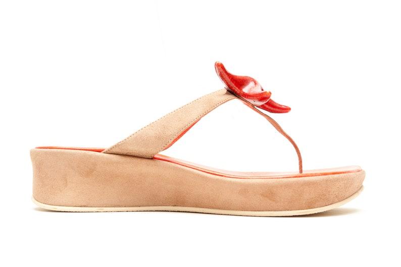 02b5a9303539 Stephane Kelian Paris Vintage Sandals Vintage Shoes Thong