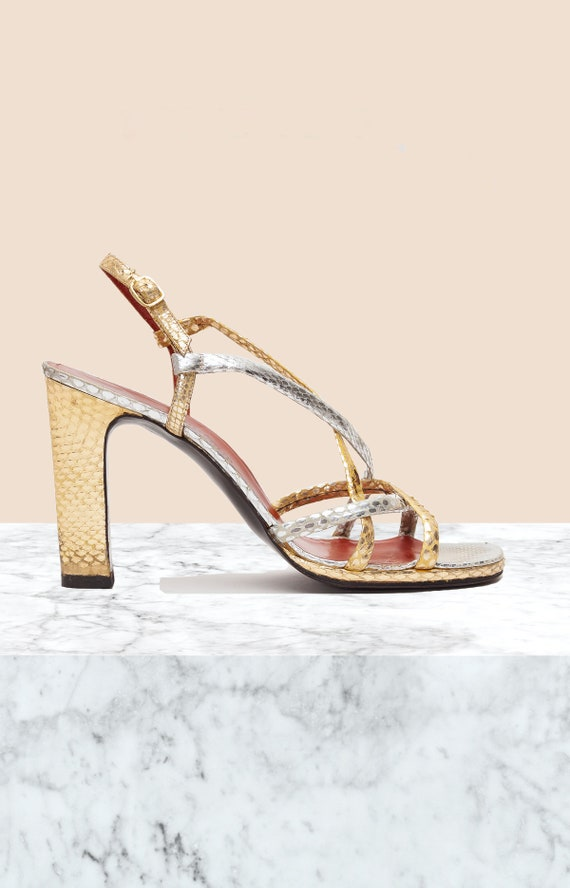 Yves Saint Laurent Vintage Platform Sandals • Size