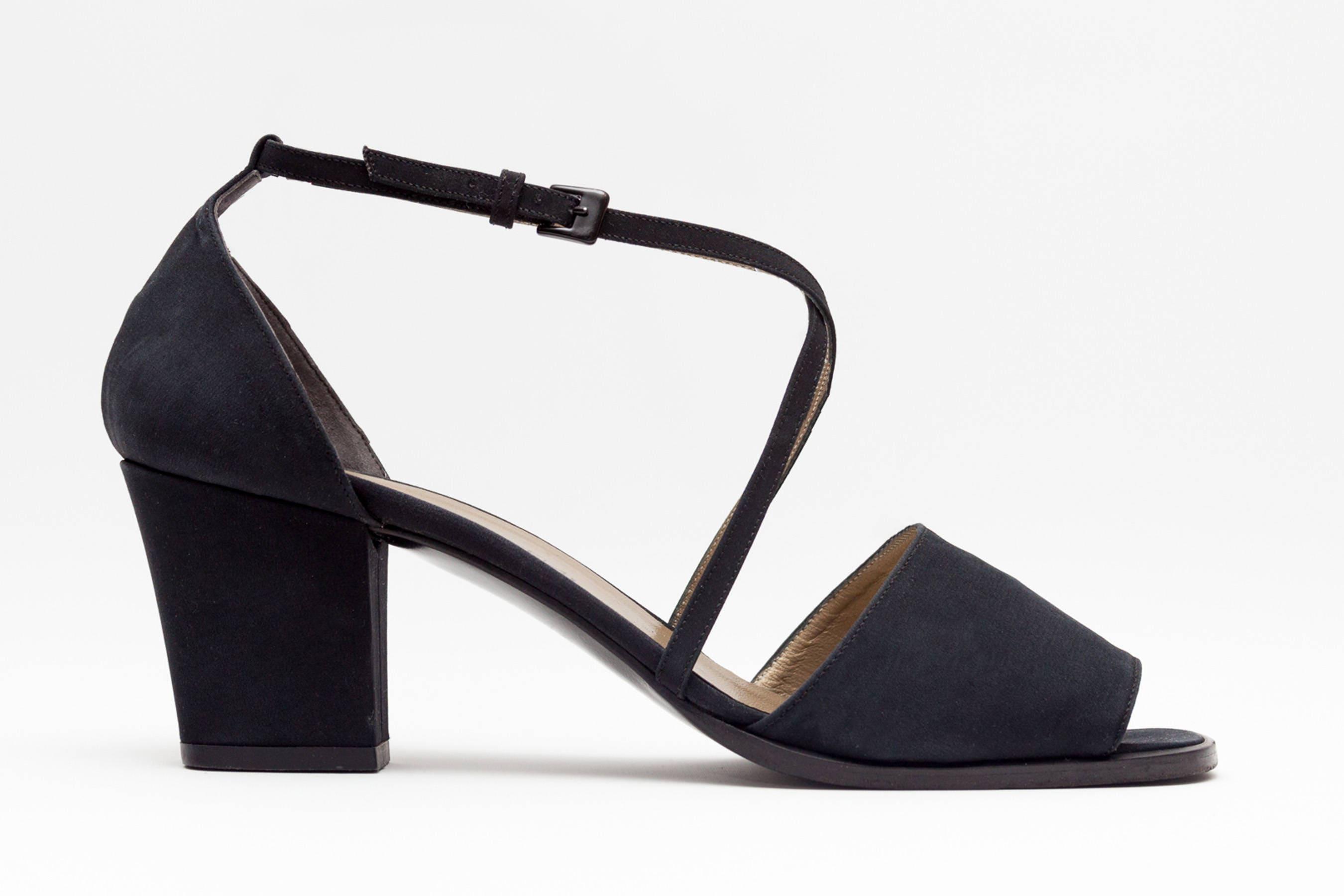 2fcc13a0a12 Yves Saint Laurent Vintage Shoes Open Toe Sandals Block | Etsy