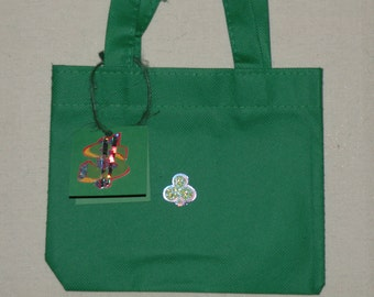 a gift bag with a gift tag