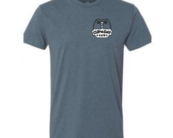 Support Andersons In Romania T-Shirt Tee for Missions Fundraiser Triblend Shirt Indigo