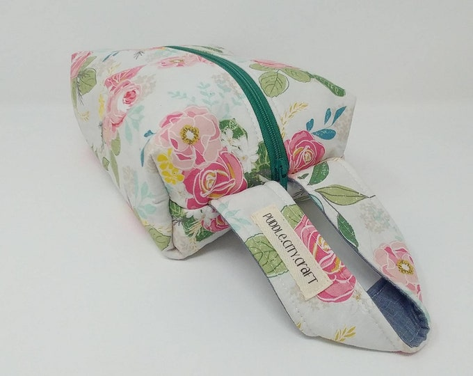 Floral print, gifts for her, toiletry bag, makeup bag, bridesmaid gifts, floral, flowers