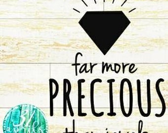 far more precious than jewels decal| proverbs 31 car decal|