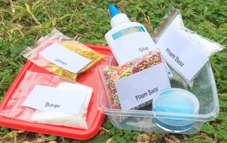 Slime kit diy slime kit kids craft diy kitglue kit from 1262 solutioingenieria Images