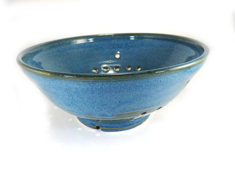 large colander Ceramic colander