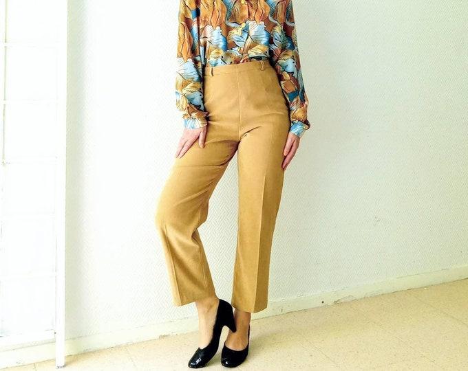 Pants imitation suims Renatto Benne 1990s /1990's Renatto Benne faux suede trousers