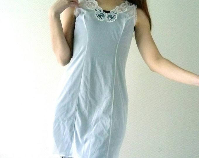 Combination transparent vintage / Vintage transparent pettycoat