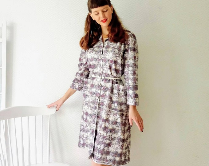 Vintage long-sleeved dress//Vintage long sleeves dress