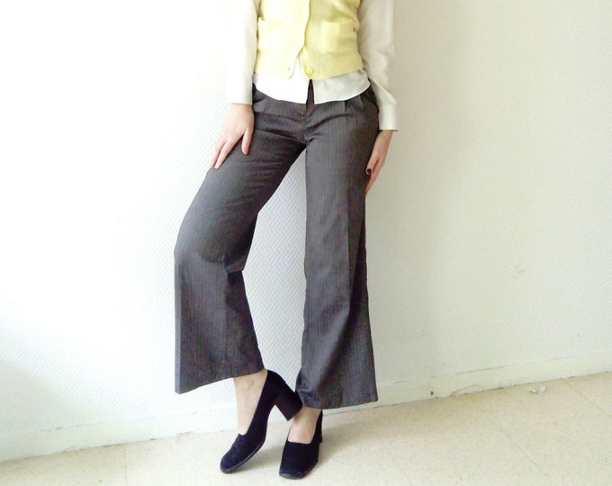 Pants wide retro /Retro loose pants